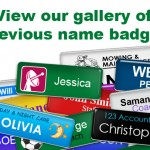 What makes the name badges important and useful?
